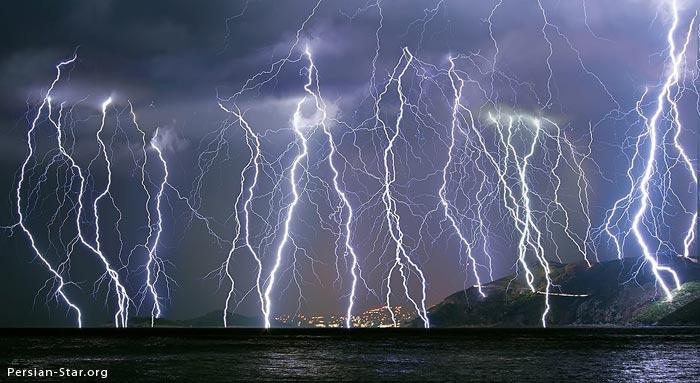 تصاویر زیبا و شگفت انگیز از رعد و برق