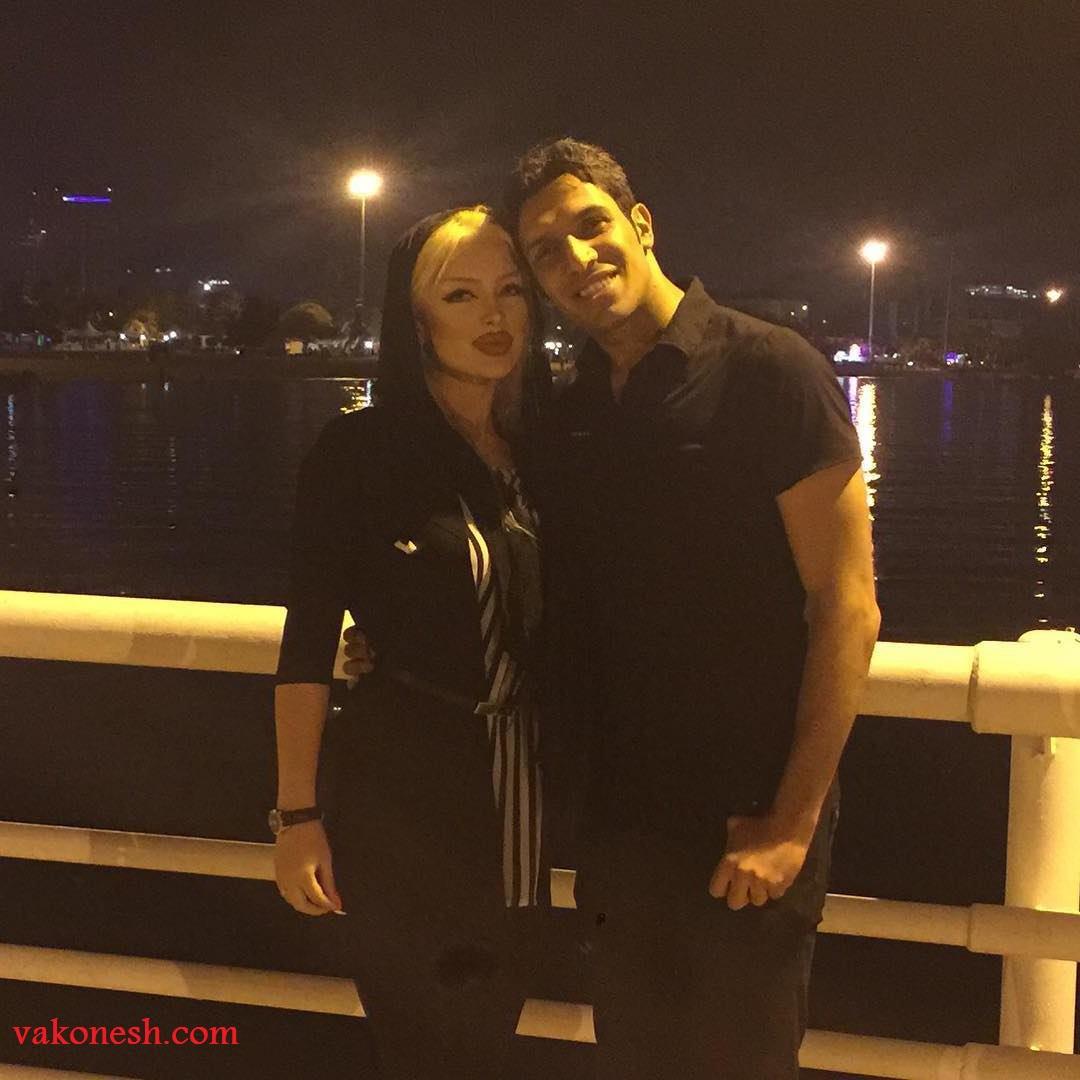 سپهر حیدری به همراه همسرش در اینستاگرام