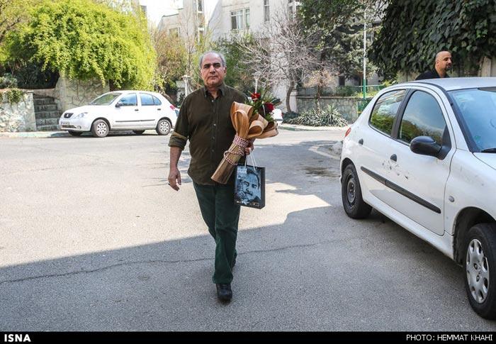 عید دیدنی پرویز پرستویی با بزرگان سینما