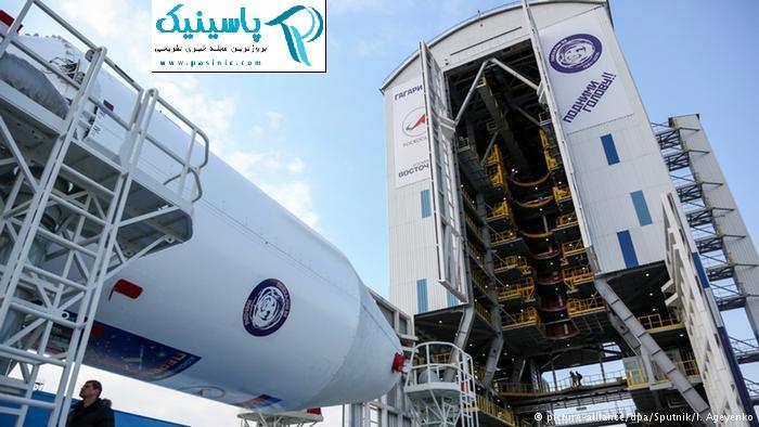 افتتاح پایگاه فضایی جدید واستوچنی روسیه