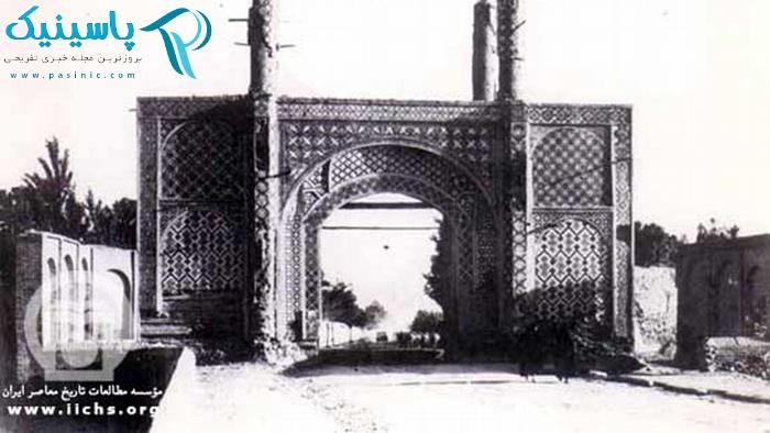 دروازههای قدیم تهران به روایت تصویر