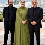 سحر دولتشاهی با لباسی متفاوت در جشنواره کن