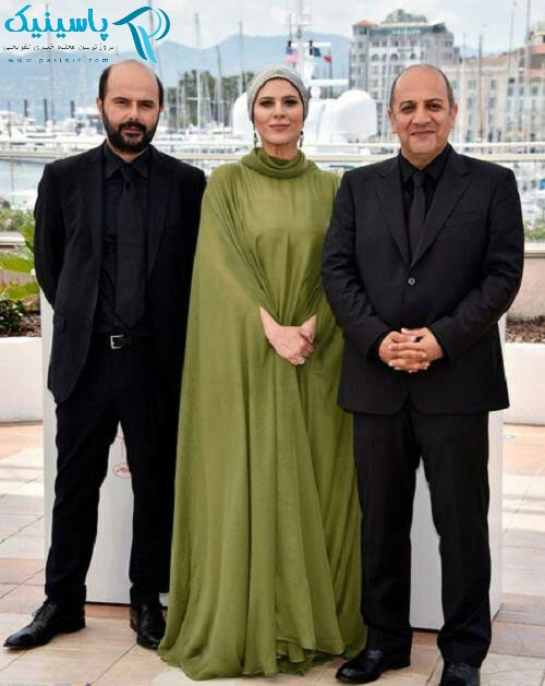 لباس متفاوت سحر دولتشاهی در جشنواره کن