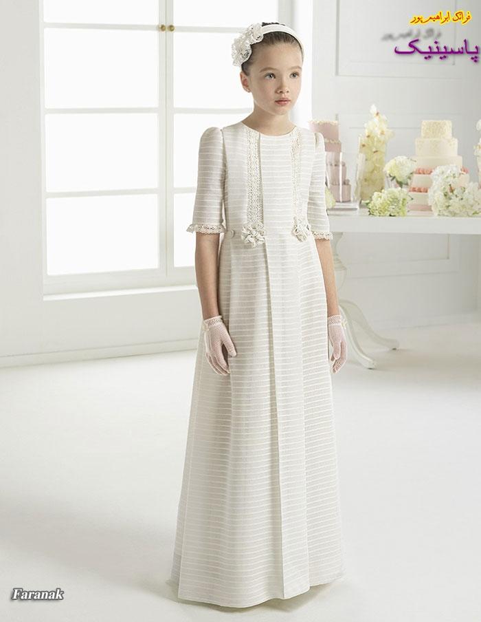 مدل های لباس عروس بچه گانه