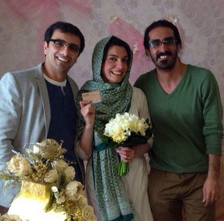 عکس بازیگران ایرانی با همسرانشان در مراسم مختلف