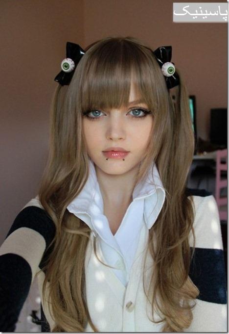 زیباترین دختر ۱۶ساله و باربری جهان