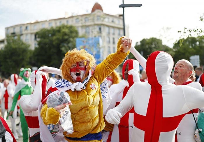 گزارش تصویری از تماشاگران بازیهای یورو ۲۰۱۶