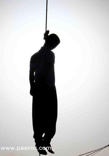مرد ژلهای در شیراز به دار مکافات آویخته شد