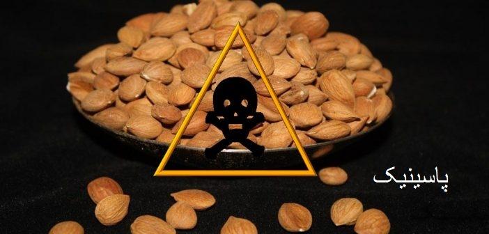 خوردن مغز هسته زردآلو مضر است چون در بدن تولید سیانید می کند