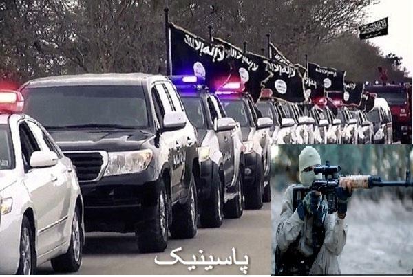 خطرناکترین تکتیرانداز داعش
