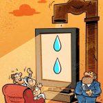 تصویر طنز و کاریکاتور سهم هر ایرانی از آب