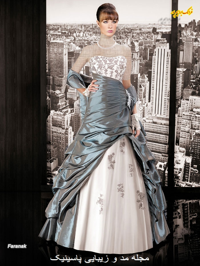 مدل لباس شب زنانه جدید
