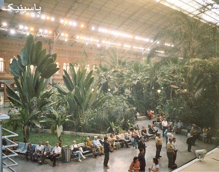 ایستگاه قطار آتوکا (Atocha) خاص ترین ایستگاه قطار دنیا در مادرید اسپانیا