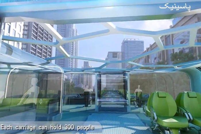 اتوبوس فراخ نوع جدیدی از حملونقل عمومی