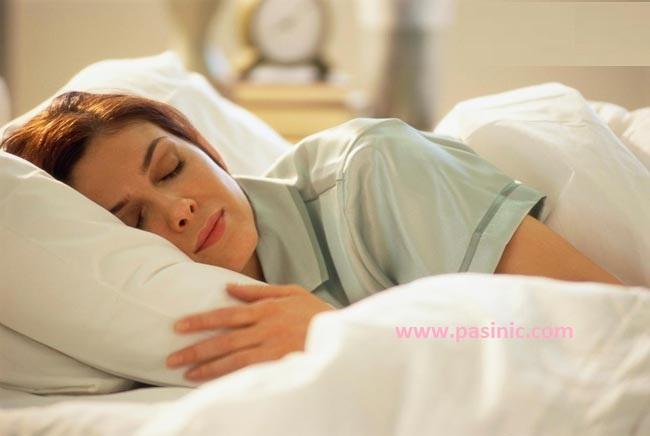 برای راحت خوابیدن در شب چه کنیم؟