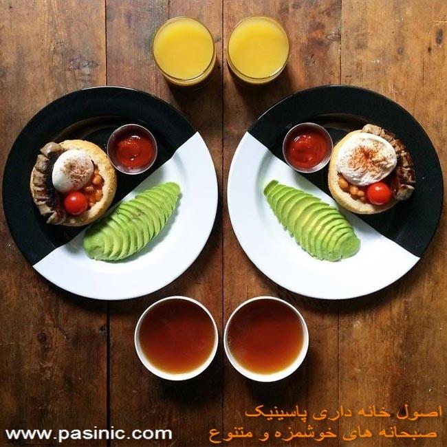 صبحانه های خوشمزه به روایت تصویر