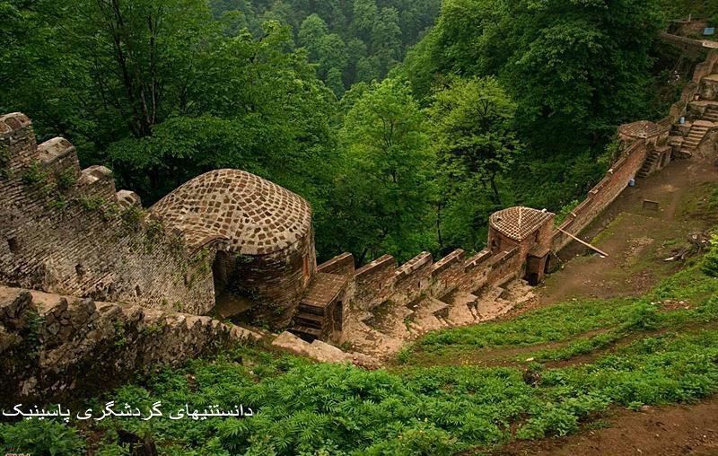 قلعه رودخان گیلان ازبزرگترين دژهاي نظامي