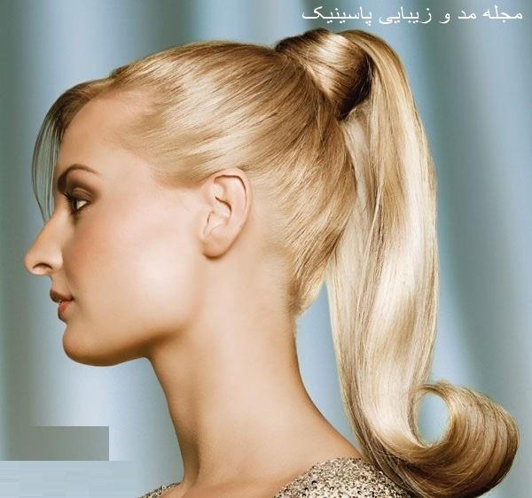 مدل آرایش موی زنانه مجلسی