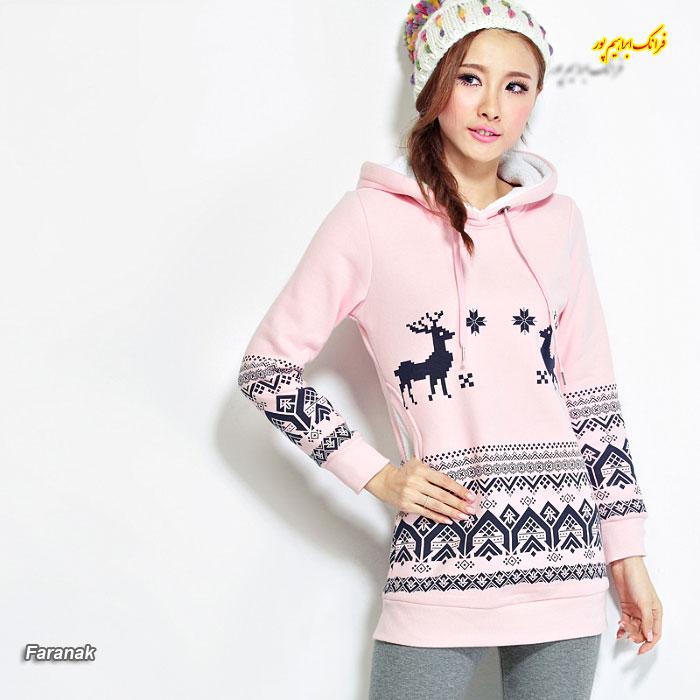 مدل های سویی شرت زنانه ۲۰۱۷