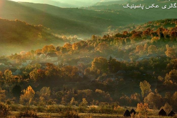 تصاویر پاییزی زیبا از ارتفاعات کشور رومانی