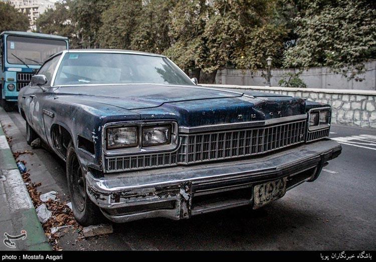 ماشينهاي قديمي در ايران