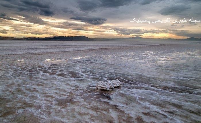 آخرین تصاویر دریاچه ارومیه