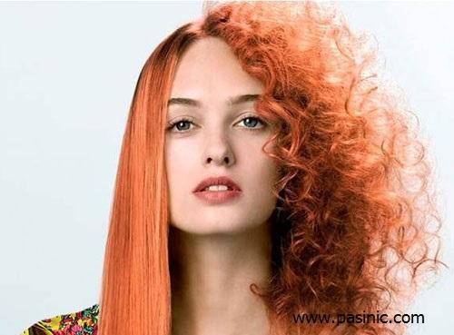 روشی خانگی برای صاف كردن مو با مواد طبيعي