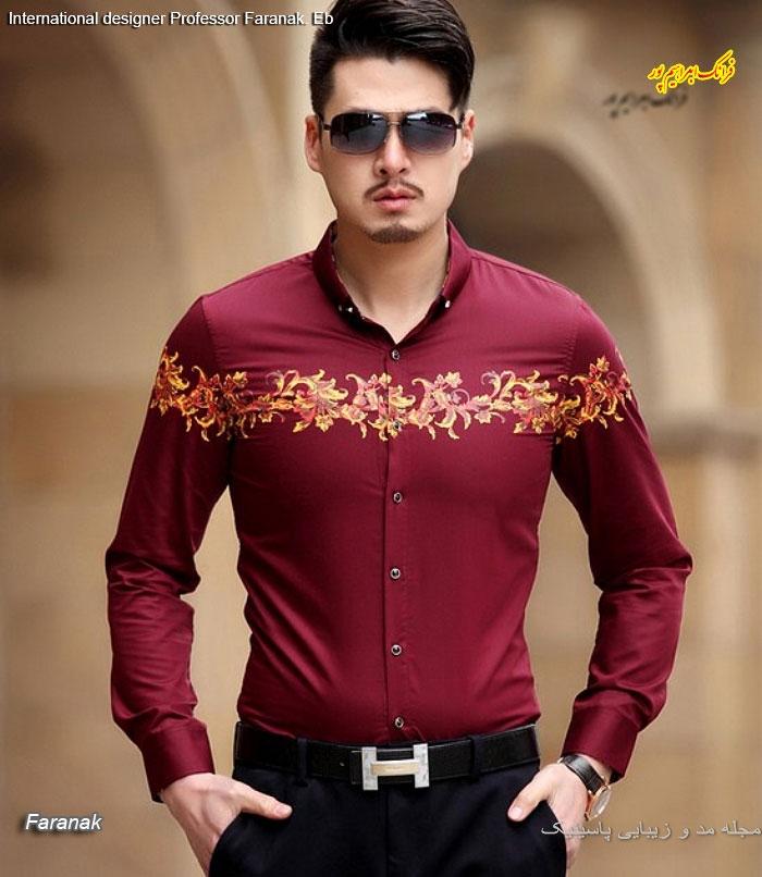 مدل های پیراهن مردانه جدید
