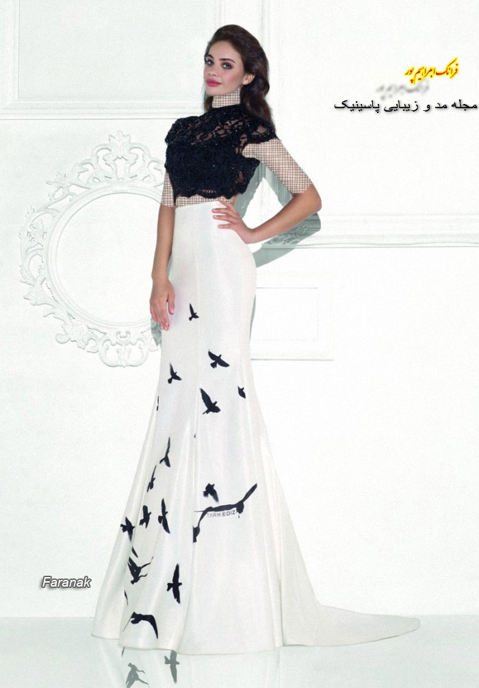 جدیدترین مدل های لباس شب زنانه