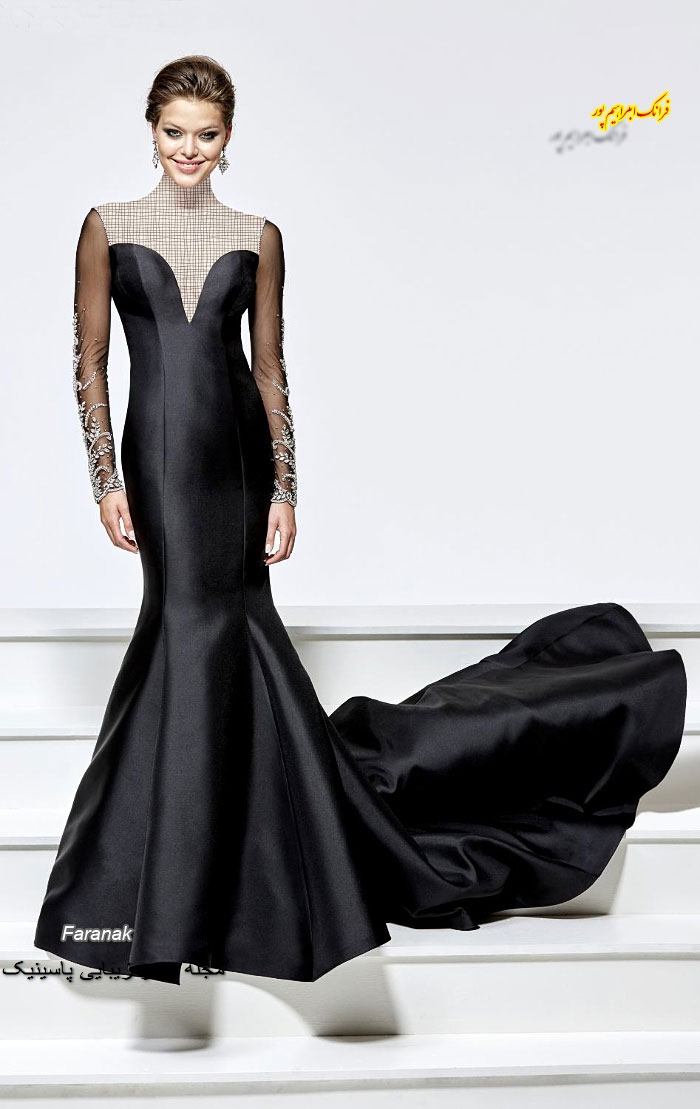 مدل های لباس مجلسی زنانه بلند