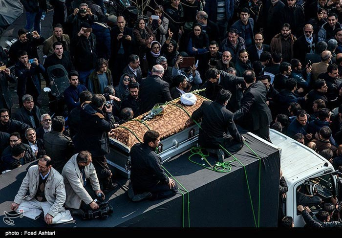 مراسم تشییع و تدفین پیکر آیتالله اکبر هاشمی رفسنجانی