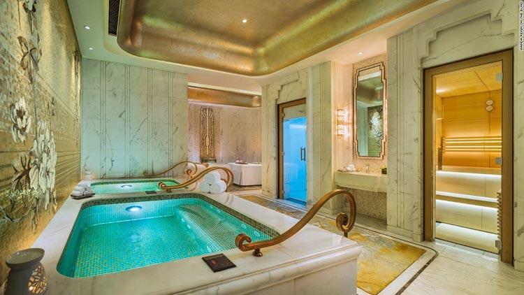 تصاویر اولین هتل هفت ستاره چین