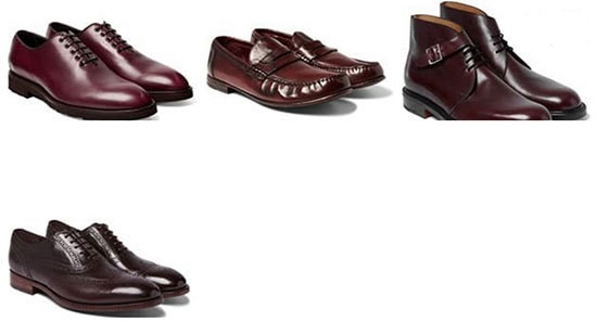 کفش مناسب کت و شلوار مردانه