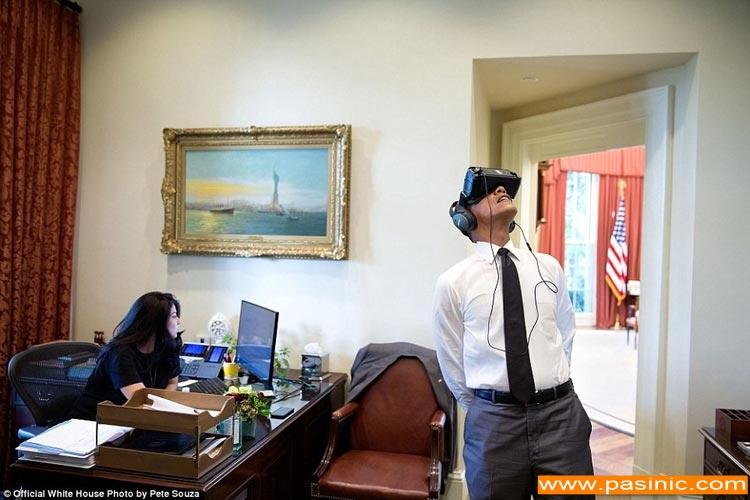 آخرین عکس های اوباما و خانواده اش