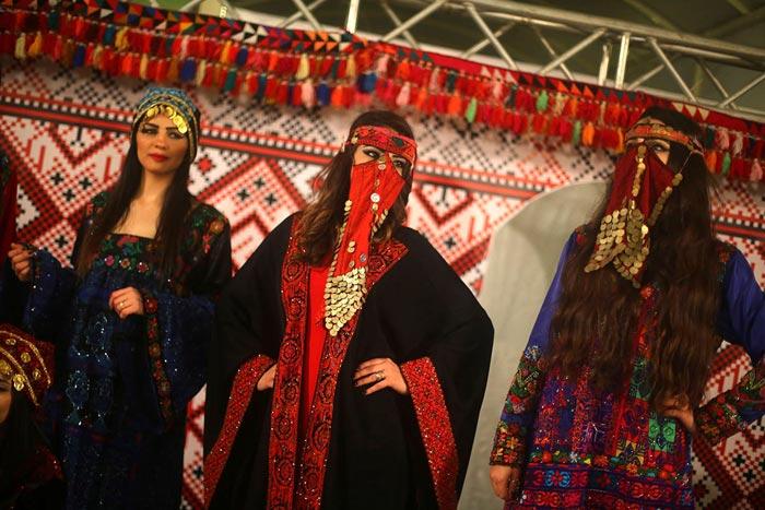 اولین شوی لباس زنانه در غزه با حضور زنان عرب
