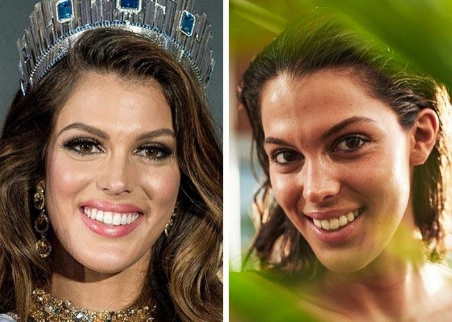 ملکه های زیبایی جهان بدون آرایش را ببینید