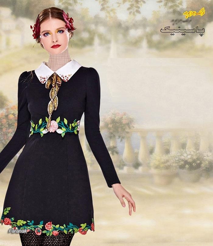 جدید ترین مدل های لباس عصر زنانه