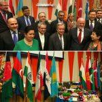 تصویری از سفره هفت سین ایرانی در سازمان ملل