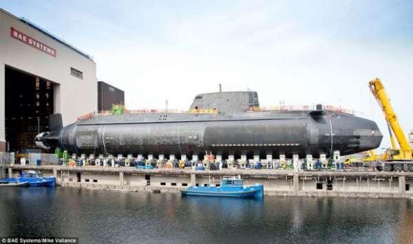 زیر دریایی هسته ای جدید انگلیس