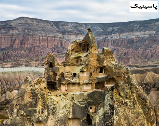 شهر زیر زمینی درینکویو یک شهر باستانی در ترکیه