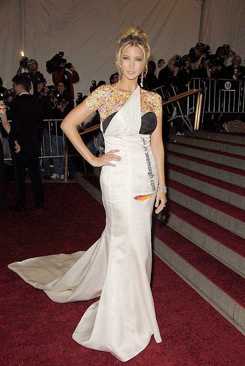 بهترین مدل های لباس ایوانکا ترامپ