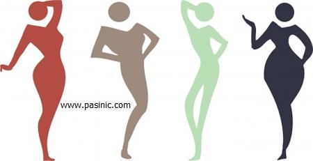 انواع اشکال بدن کدام است؟ بدن من چه شکلی است؟