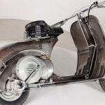 قدیمیترین موتور سیکلت وسپا به حراج گذاشته شد