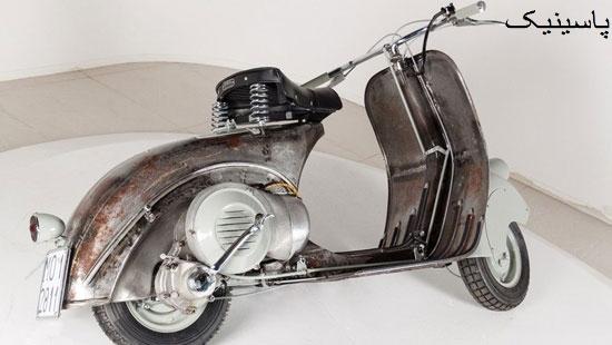 قدیمیترین موتور سیکلت وسپا فروخته شد
