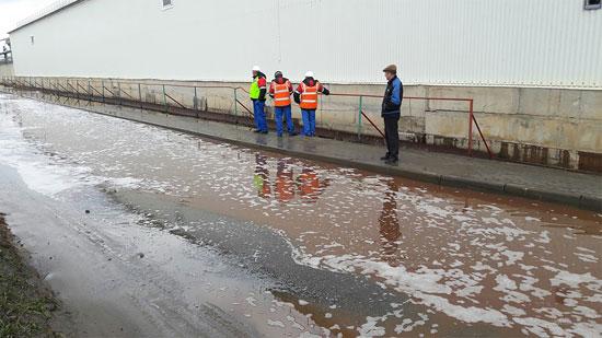 سیل آبمیوه در خیابان های روسیه