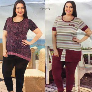 مدل های جدید لباس راحتی زنانه سایز بزرگ