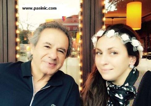 عارف عارف کیا به همراه همسر جوانش عسل