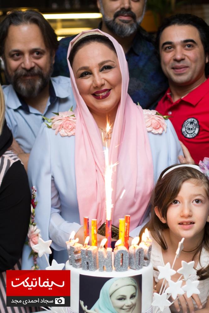 جشن تولد بهنوش بختیاری با حضور هنرمندان معروف سینما