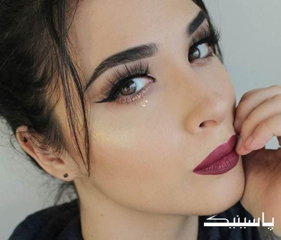 جدیدترین مدل های آرایش صورت و چشم