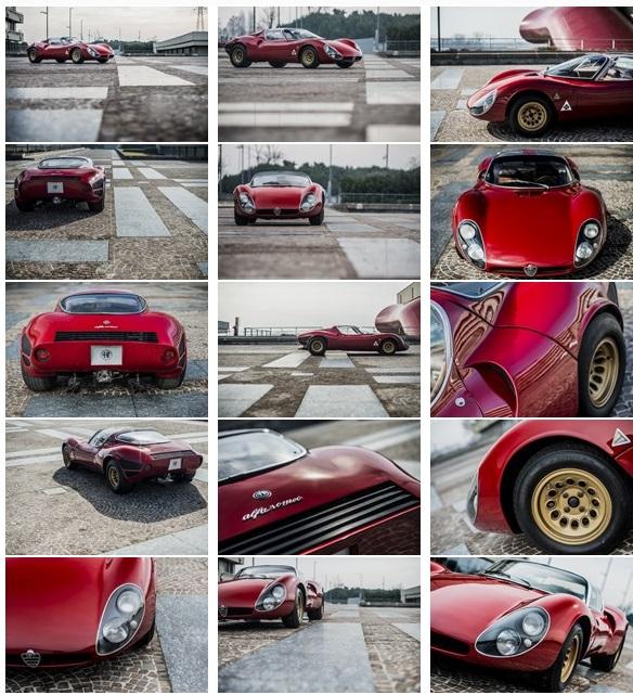 آلفارومئو تیپو 33 زیباترین خودرو جهان